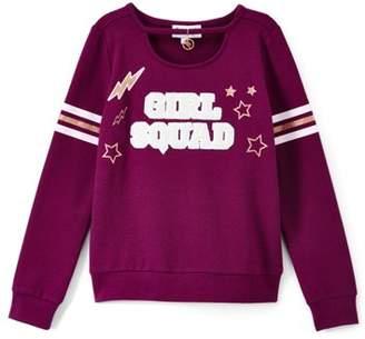 3f3c9e0d93 Freestyle Revolution Girls Squad Chenille Varsity Sweatshirt (Big Girls)