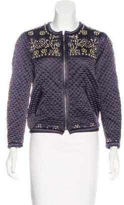 Isabel Marant Silk Embellished Jacket