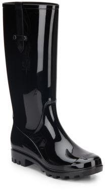 Tacoma Patent Lug Rainboots $88 thestylecure.com