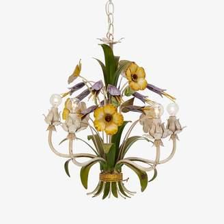 ABC Home Vintage Floral Toile Chandelier