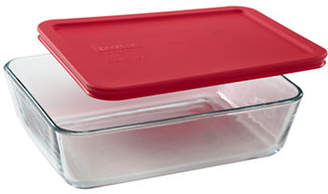 Pyrex Simply Store 6-Cup Rectangular Dish with Cover