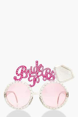 boohoo Bride To Be Novelty Glasses