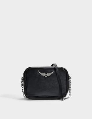 Zadig & Voltaire Boxy XS Bag in Black Cow Leather