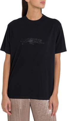 Krizia Embroidered Panther Tee