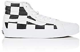 Vans Men's BNY Sole Series: Men's Sk8-Hi LX Leather Sneakers-White