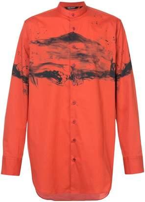 Neil Barrett printed style shirt