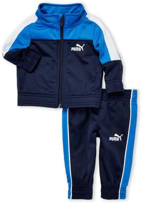 Puma Newborn Boys) Two-Piece Tricot Track Jacket & Pant Set