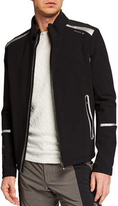 Stefano Ricci Men's Two-Tone Zip-Front Sports Jacket