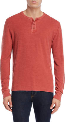 Lucky Brand Long Sleeve Thermal Henley