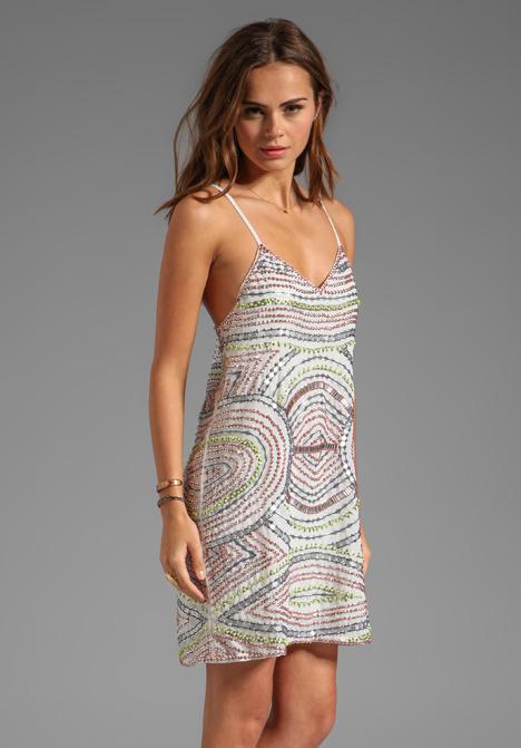 Parker Finn Embellished Dress