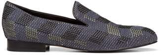 Donald J Pliner LYLESP, Embellished Denim Loafer