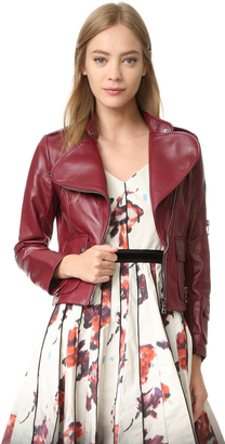 Marc Jacobs Lambskin Leather Jacket $1,900 thestylecure.com