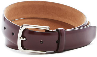 Cole Haan Smooth Leather Belt $68 thestylecure.com