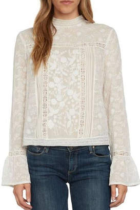 Willow & Clay Ivory Lace Top