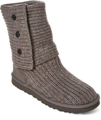UGG Grey Classic Carly Boots