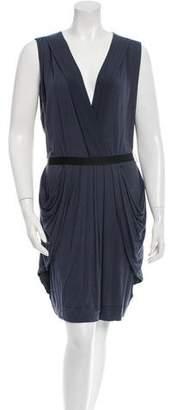 Christopher Fischer Draped Jersey Dress w/ Tags