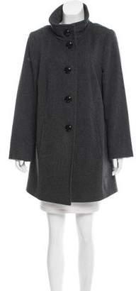 Basler Short Virgin Wool Coat