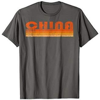 Vintage Retro China T-Shirt Trendy Shirt