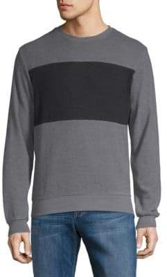 Hyden Yoo Colorblock Long-Sleeve Tee