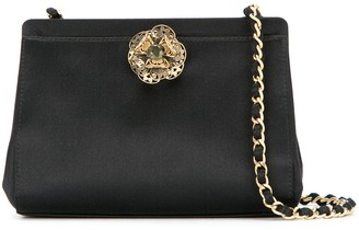 Chanel Pre-Owned Bijou Stone Chain Shoulder Bag