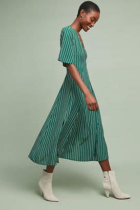 Faithfull Paseo Striped Wrap Dress