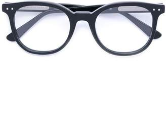 Bottega Veneta round frame glasses