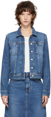 Acne Studios Blue Bla Konst Denim Cliff Jacket