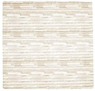 "Tadpoles Playmat Wood Grain Birch 4 Piece Set, 24"""