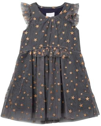 BCBGirls Star Glitter Print Dress (Big Girls)