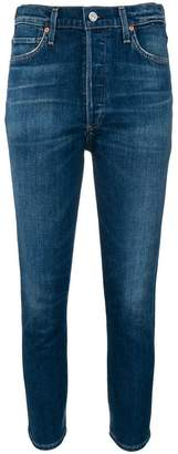 Citizens of Humanity high-rise skinny jeans