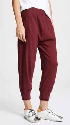 Wilt Shrunken Sweatpants w Rolled Rib Cuff
