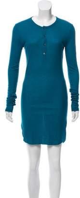 Ann Demeulemeester Rib Knit Mini Dress