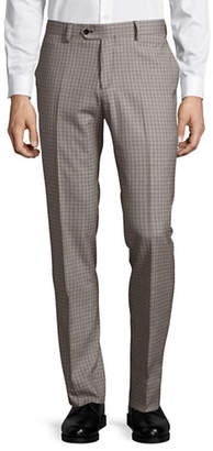 HAIGHT & ASHBURY Wool-Blend Flat-Front Pants
