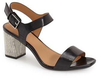 Women's Calvin Klein 'Cimi' Block Heel Sandal $98.95 thestylecure.com
