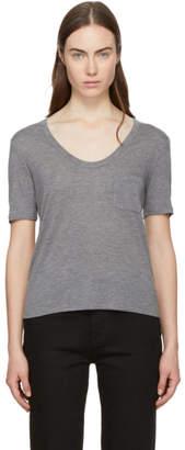 Alexander Wang Grey Jersey Classic T-Shirt