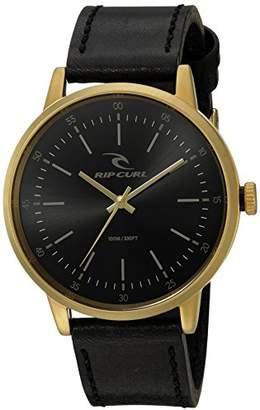 Rip Curl Men's A2805-GOL Drake Analog Display Analog Quartz Black Watch