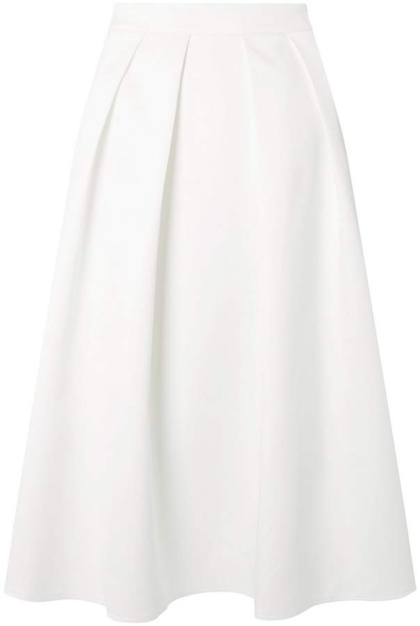 **Showcase White Bridal Viola Skirt