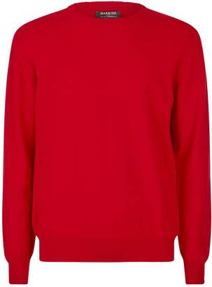 Harrods Crew Neck Cashmere Sweater