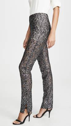 ANAÏS JOURDEN Coated Lace Pants