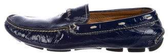 Prada Patent Leather Driving Shoes