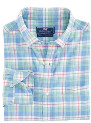 Vineyard Vines Atlantic Coast Beach Flannel Murray Shirt