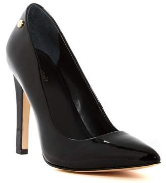 Calvin Klein Brady Patent Leather Pointed-Toe Pump