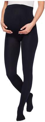 Plush Maternity Fleece-Lined Full-Foot Tights Hose