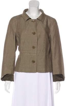 Max Mara Woven Casual Jacket