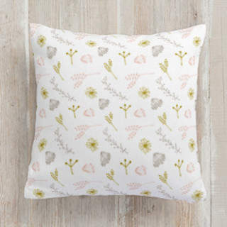 Botanical Scatter Square Pillow
