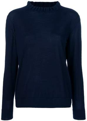 A.P.C. frilled style sweater