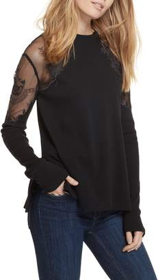 Free People Daniella Lace Top