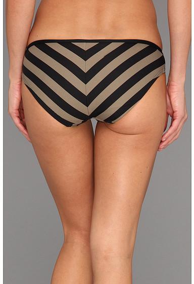 DKNY Chic Stripes Spliced Classic Bottom