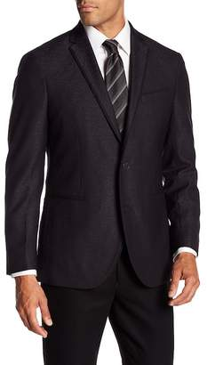 Kenneth Cole Reaction Black Jacquard Sportcoat