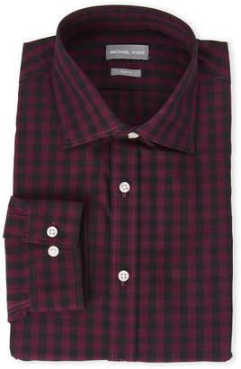 Michael Kors Ruby Gingham Slim Fit Shirt